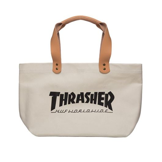 Picture of Thrasher Canvas Tote-Indy White
