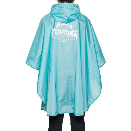 Picture of Thrasher Packable Poncho-Indy Mint