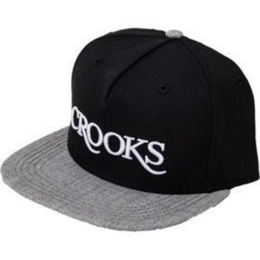 Picture of Serif Snapback Black/Speckle Grey