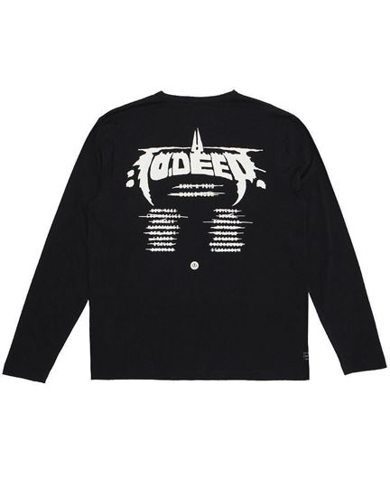 Picture of NULL AND VOID L/S Tee Black
