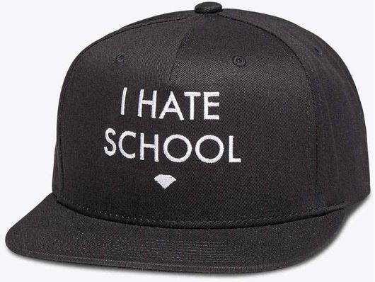 Picture of I Hate School Snapback Black
