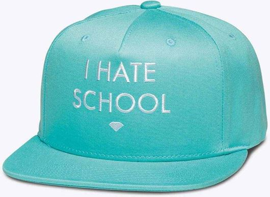Picture of I Hate School Snapback Blue