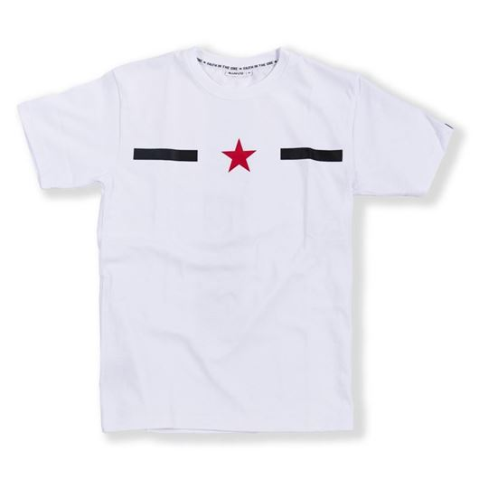 Picture of Vertical Star Tee White