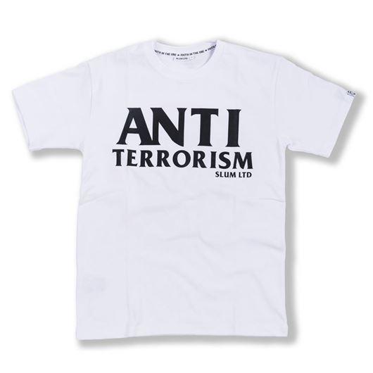 Picture of Anti Terrorism Tee White