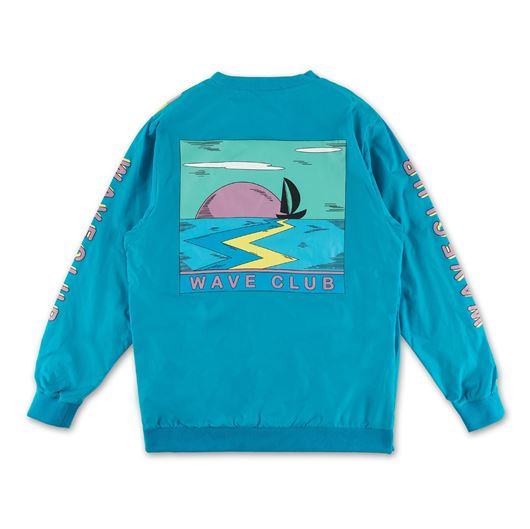 Picture of WAVE CLUB WINDBREAKER CREW SAPPHIRE