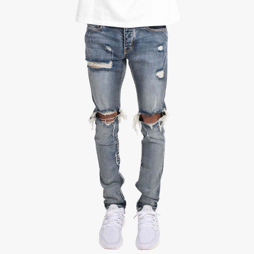 Picture of M1 Stretch Denim Blue