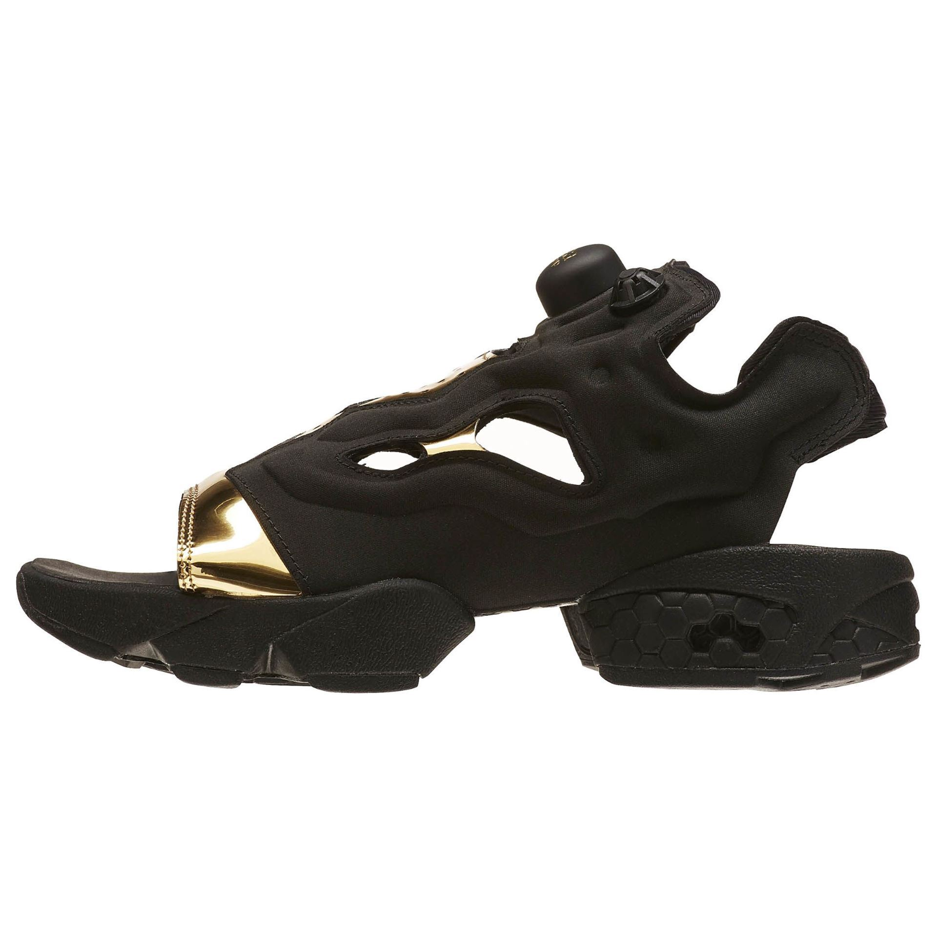 3fcd3e55a3 ... Picture of instapump Fury Sandal Womens Black/Gold