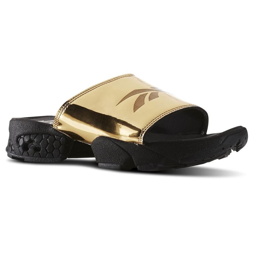 65e76472f Picture of Fury Slide Magic Hour Gold Metallic Black