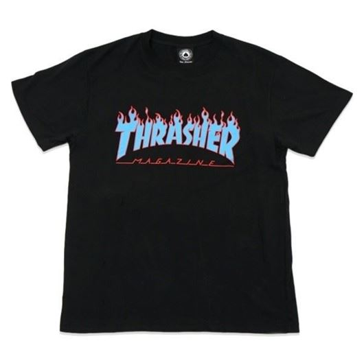 Picture of SM17 Flame Tee Black/Blue