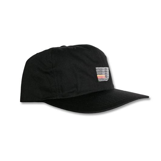 Picture of Speed Stripe Strapback Cap Black