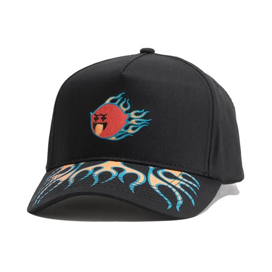Picture of GHOST FLAMES SNAPBACK Black