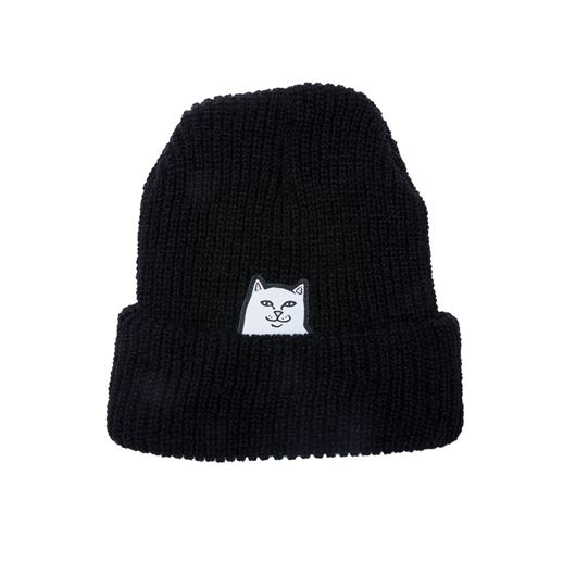 Picture of Lord Nermal Knit Beanie Black