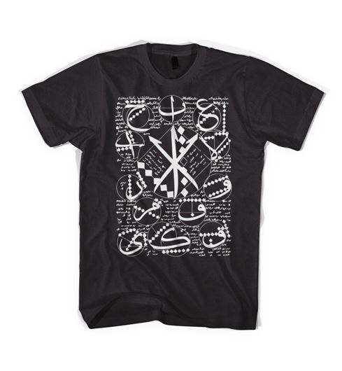 Picture of ALEPH FUNDAMENTAL Tee Black