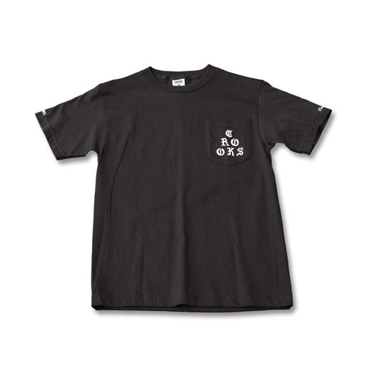 Picture of Stacked Tee Black