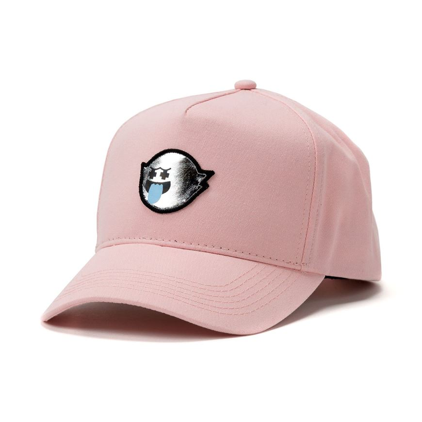 a0839c6095bc84 Picture of METALLIC GHOST SNAPBACK Light Pink