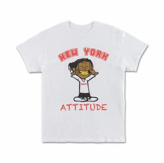 Picture of ATTITUDE GRAPHIC - S/S White