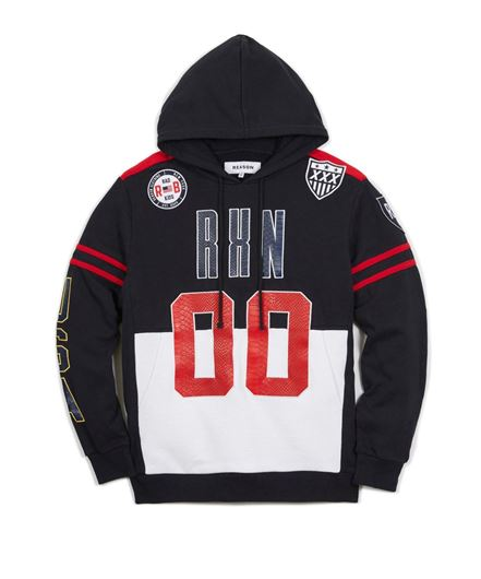 Picture of Rival Hoodie Black