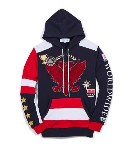 Picture of World Wide Hoodie Multi