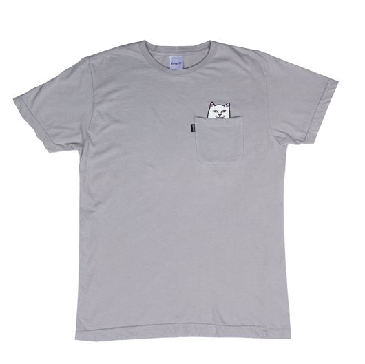 Picture of Lord Nermal Pocket Tee Cool Grey