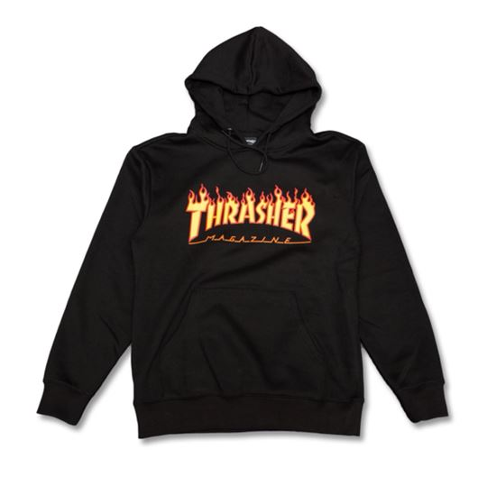 Picture of FLAME PULLOVER Black