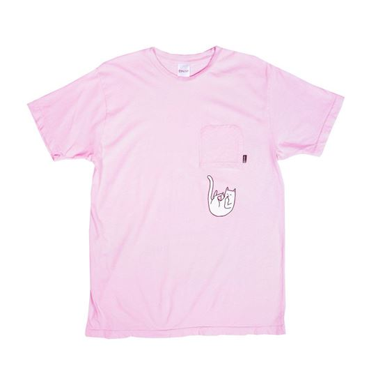 Picture of Falling For Nermal Pocket Tee Pink