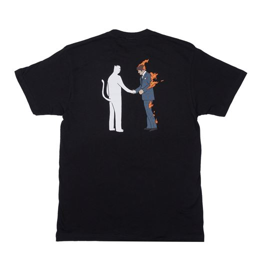 Picture of Burn Tee Black