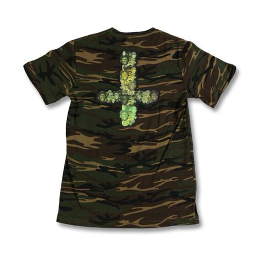 Picture of MELLOWHYPE 65 TEE Camo