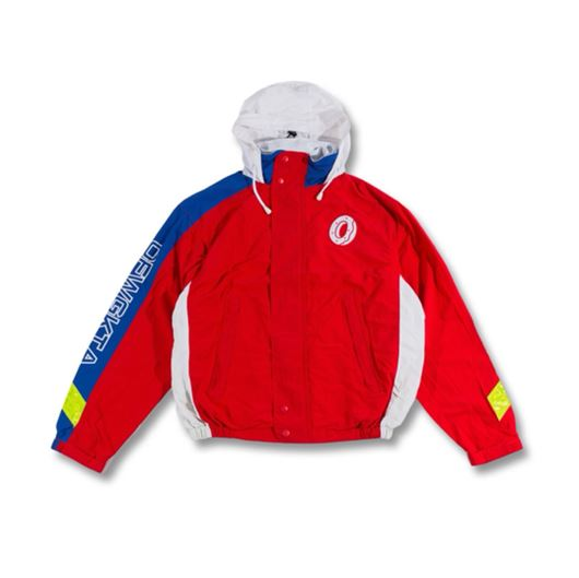 Picture of OFWGKTA & DONUT LOGOS WINDBREAKER Red