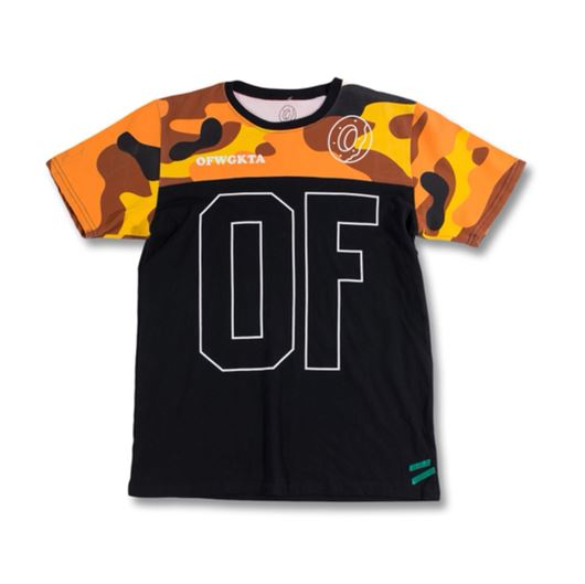 Picture of YELLOW/BROWN CAMO JERSEY Brown