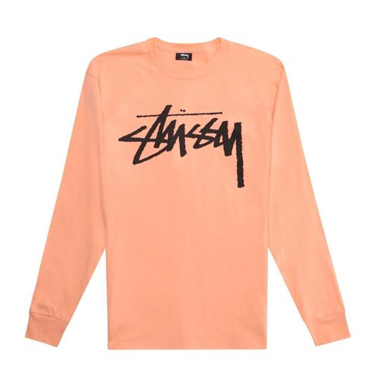Picture of OLD STOCK LS TEE Salmon