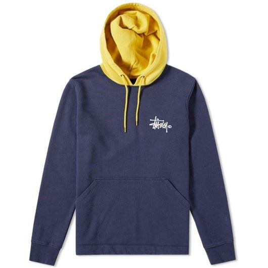 Picture of TWO TONE HOOD Dark Navy