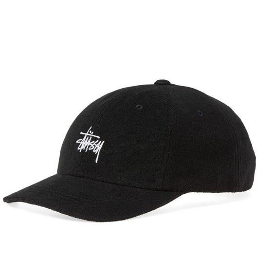 Picture of STOCK TERRY CLOTH LOW PRO CAP Black