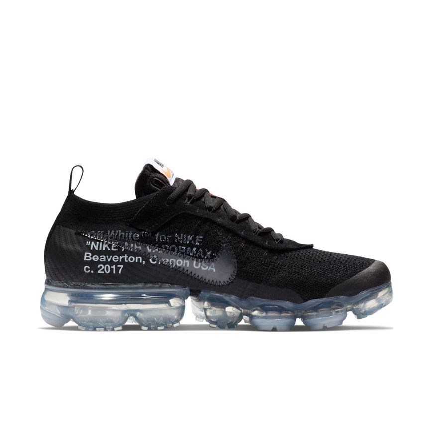 the best attitude ed8bd 85f76 OFF WHITE x Nike VaporMax Black