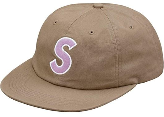 Picture of Felt S Logo 6-Panel Tan