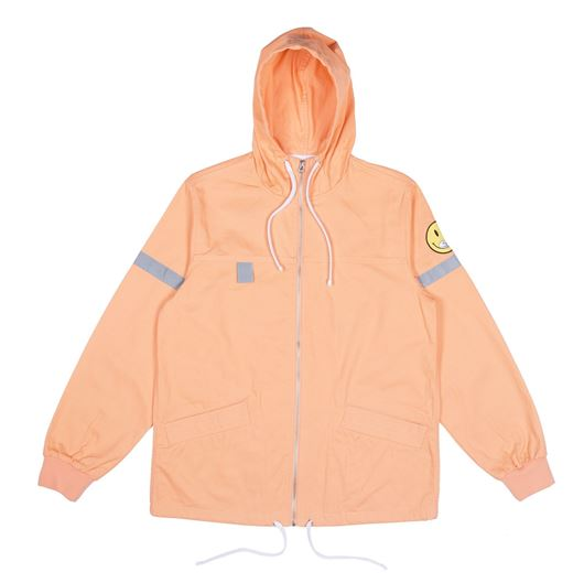 Picture of Everything Will Be Ok Cotton Fisherman Jacket Salmon