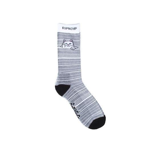 Picture of Peeking Nermal Socks White