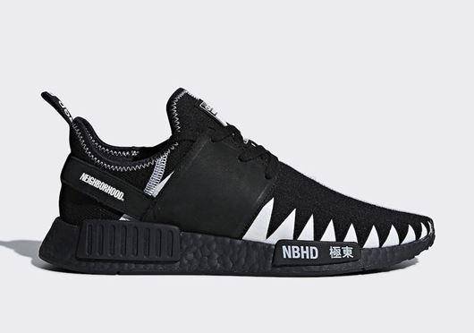 Picture of NEIGHBORHOOD x adidas NMD R1 Black