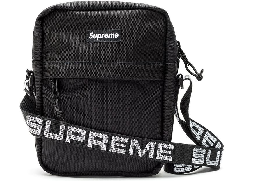Picture of Supreme Shoulder Bag (SS18) Black 434fb42121dcb