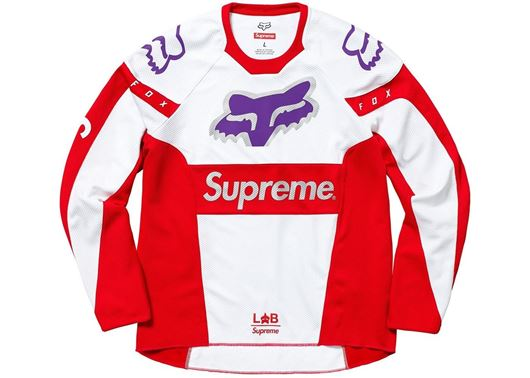 Picture of Supreme Fox Racing Moto Jersey Top Red