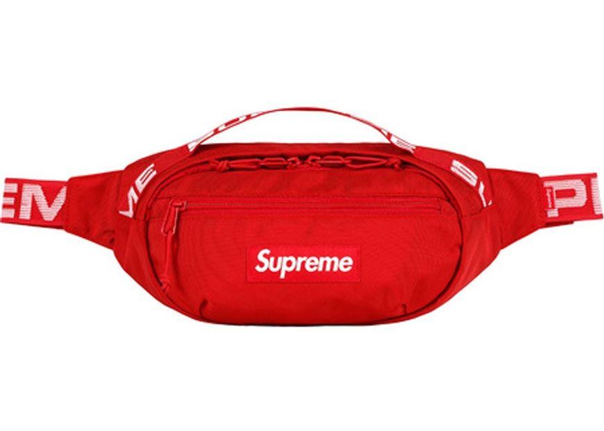Slum Ltd Supreme Waist Bag Ss18 Red