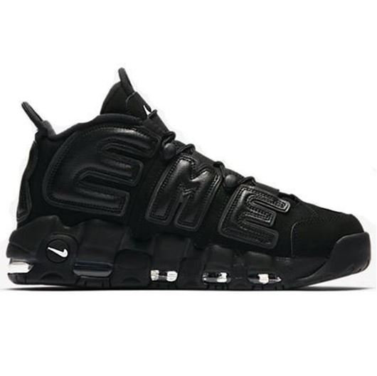 Picture of Supreme x Nike Air More Uptempo Black(Used)
