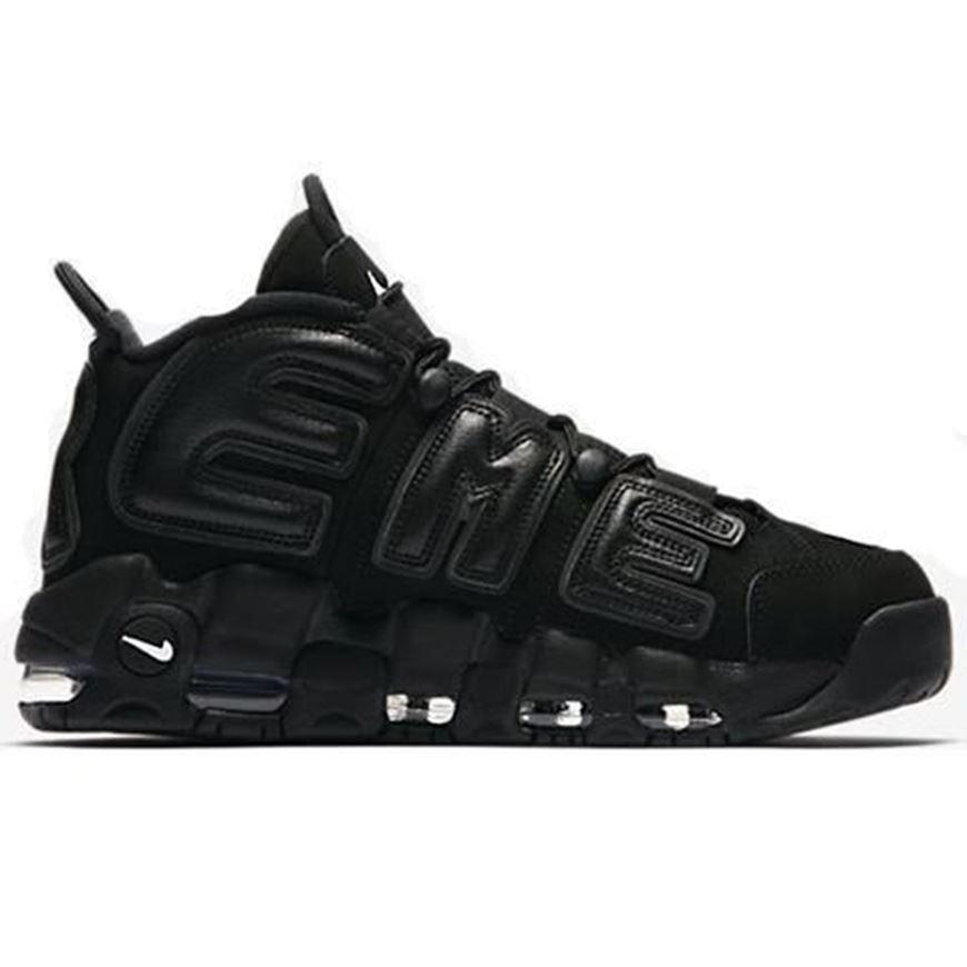 Supreme x Nike Air More Uptempo Black