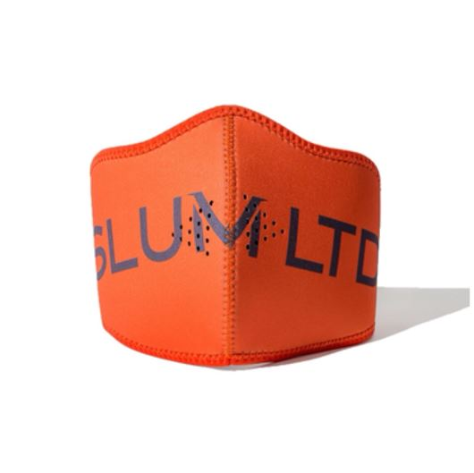Picture of Luxy Font Neoprene Mask Orange