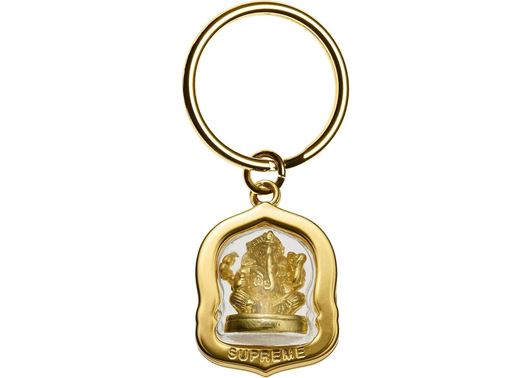 Picture of Supreme Ganesh Keychain Gold