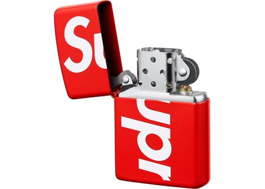 Picture of Supreme Logo Zippo Red