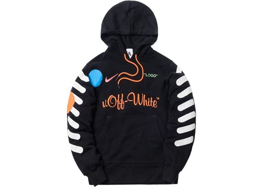 Picture of Nikelab x OFF-WHITE Mercurial NRG X Hoodie Black