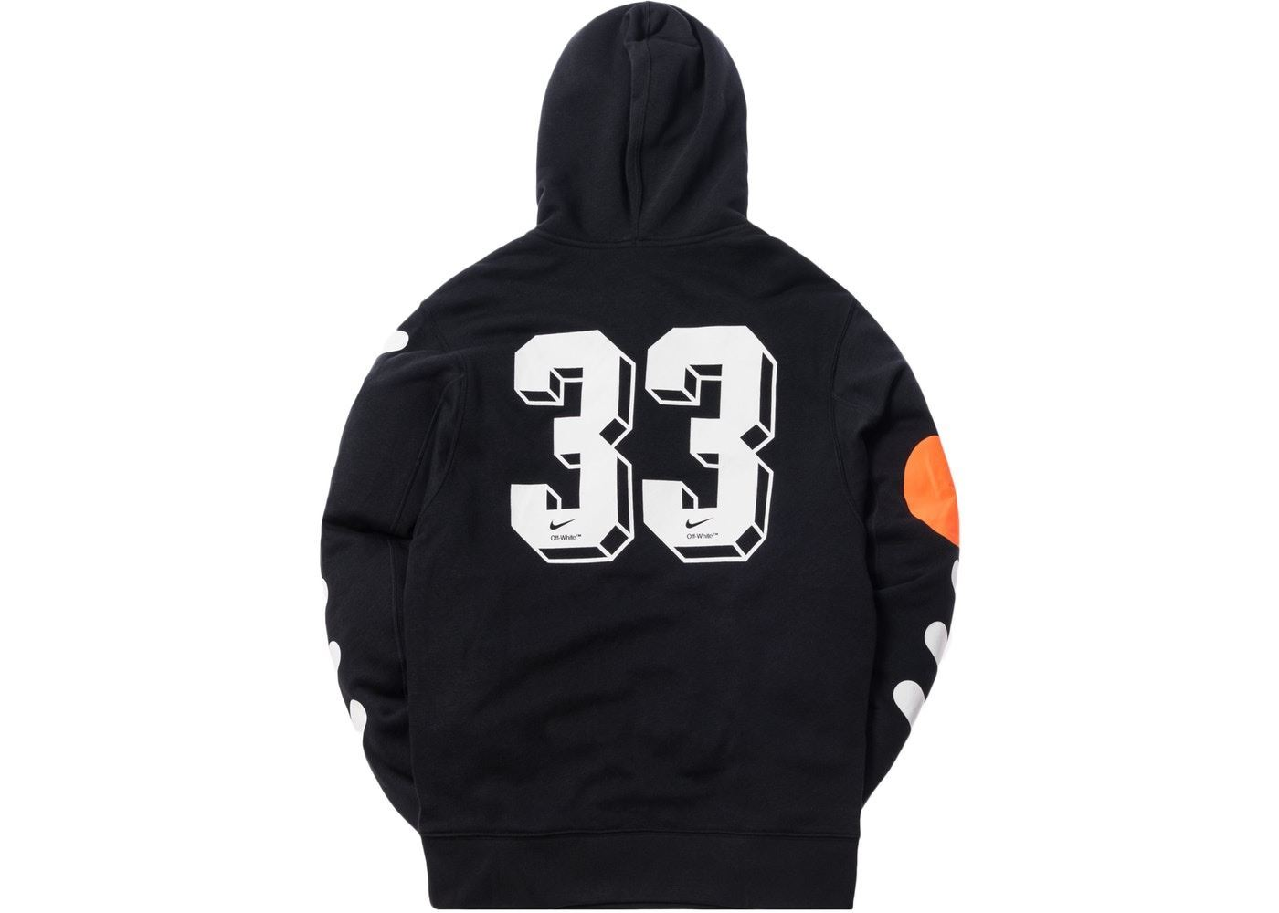 5508966457aec ... Picture of Nikelab x OFF-WHITE Mercurial NRG X Hoodie Black