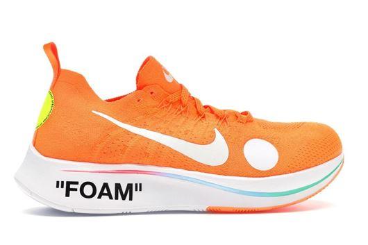 e1565f23adbff4 Nike Zoom Fly Mercurial Off-White Orange
