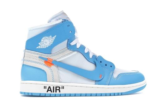 Picture of Jordan 1 Retro High Off-White University Blue