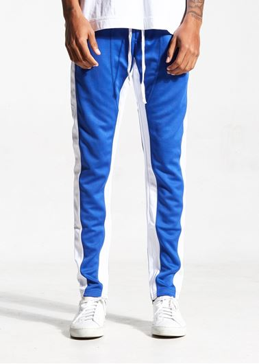 Picture of FB TRACK PANTS BLUE/WHITE